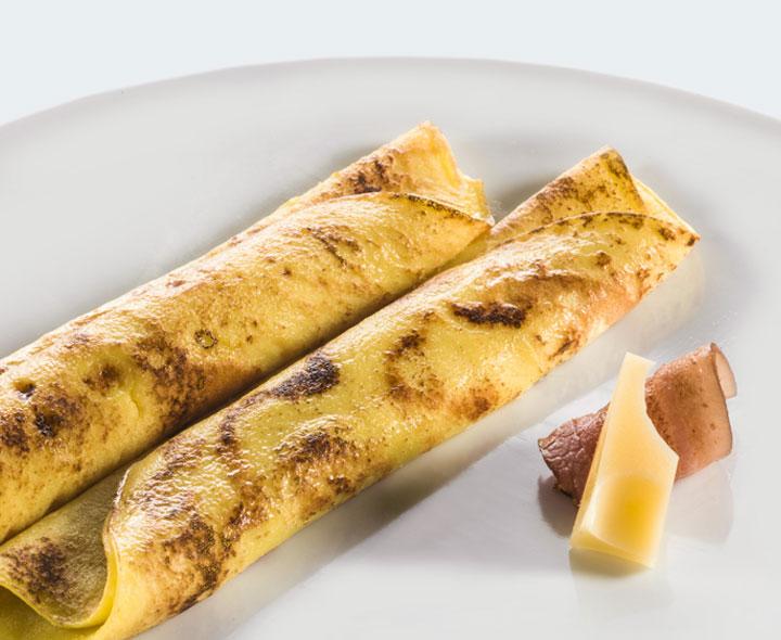 Tortilhas e crepes