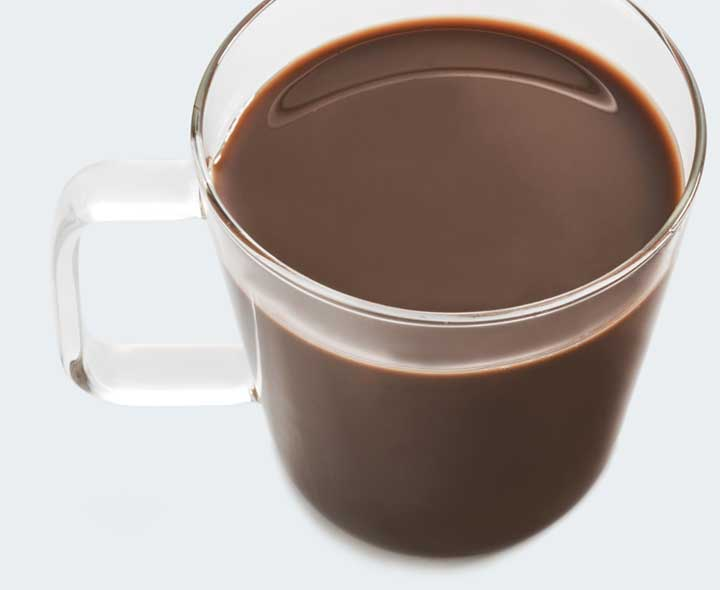 Cocoa flavour drink