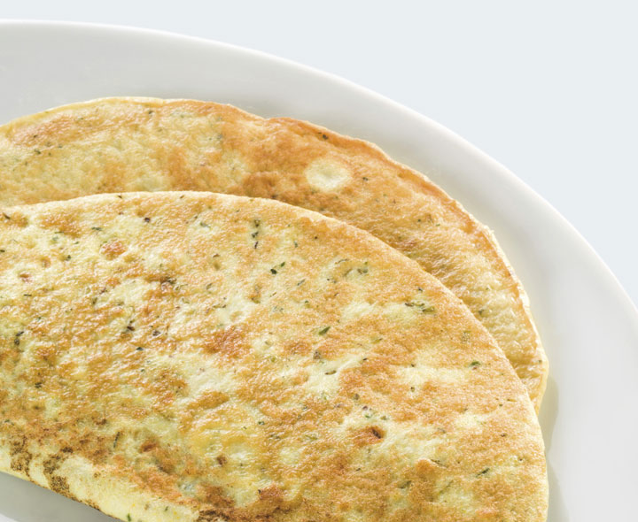 Mixed herb omelette
