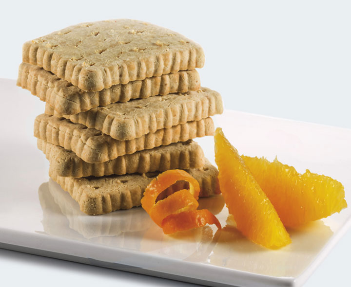 Biscuit saveur Orange