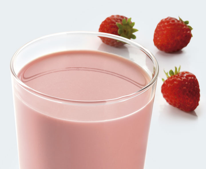 Smoothie saveur Yaourt fraise