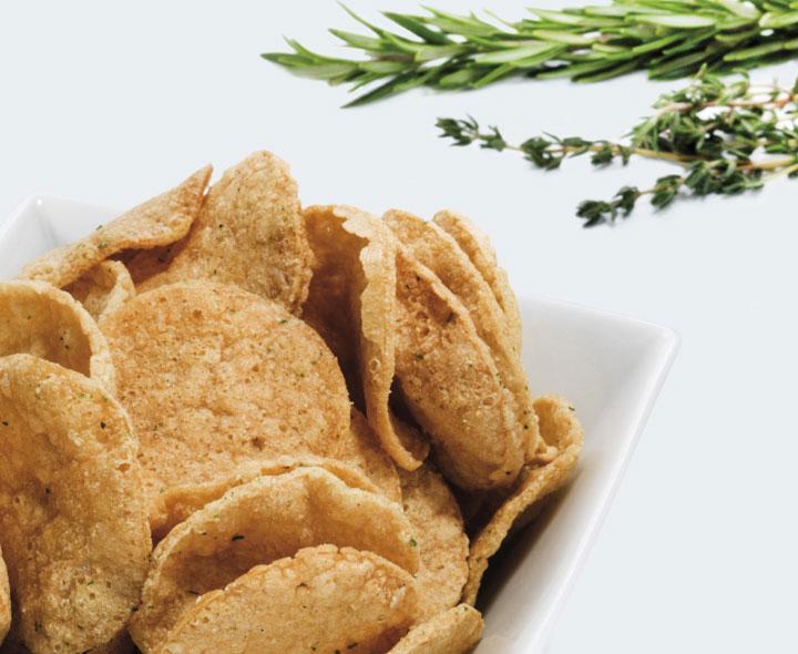 Mediterranean-flavoured Crisps