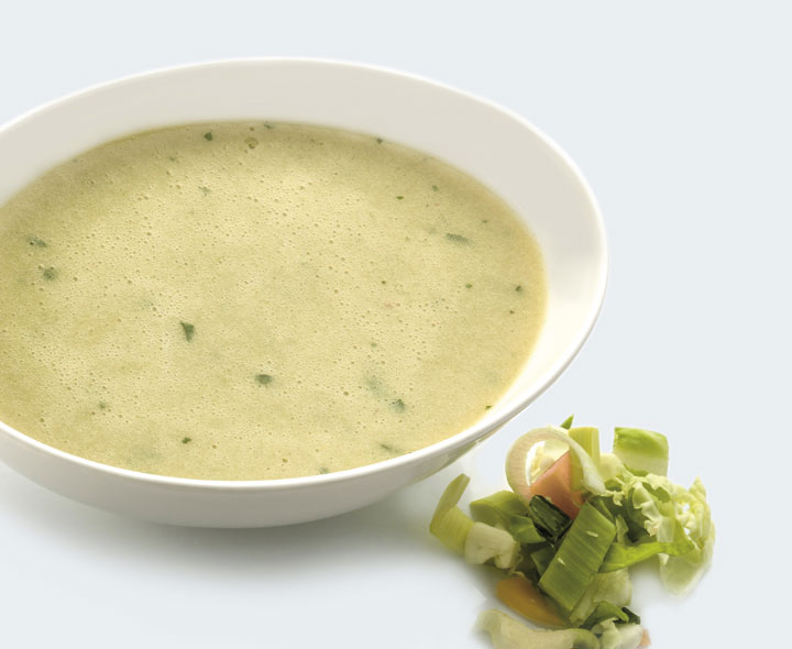 Cream of Vegetables soup
