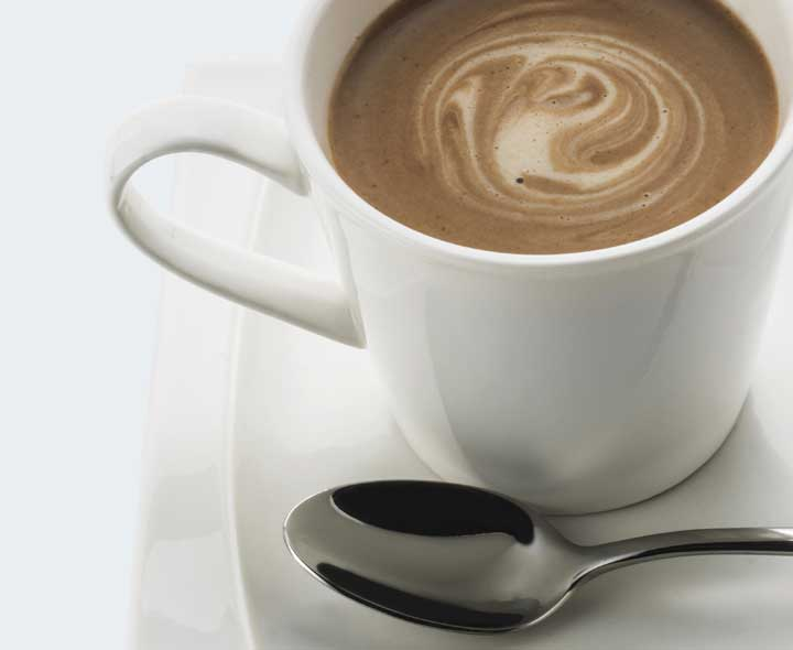 Capuccino flavour drink