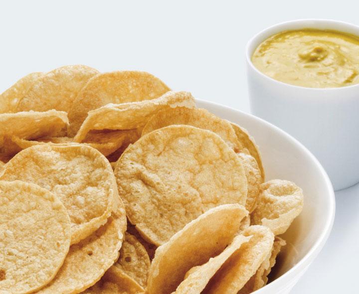 Chips Mostaza