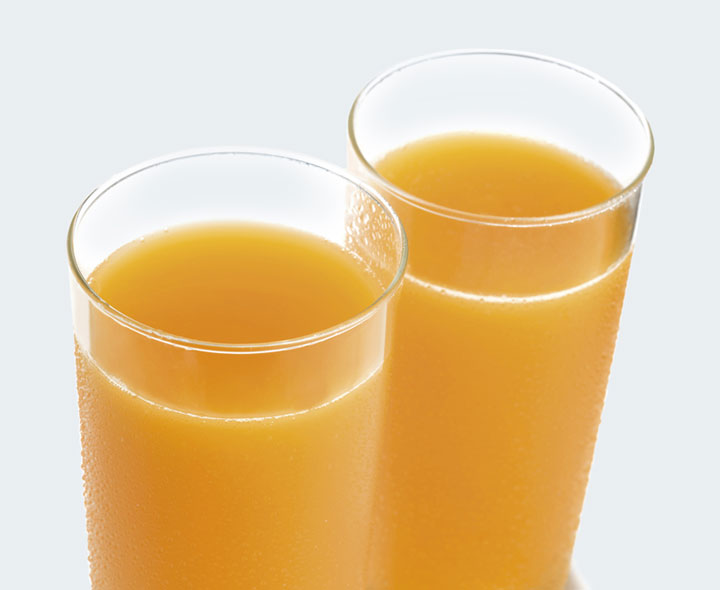 Peach flavour drink