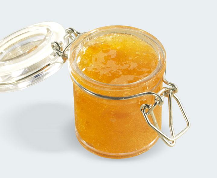 Apricot flavour coulis