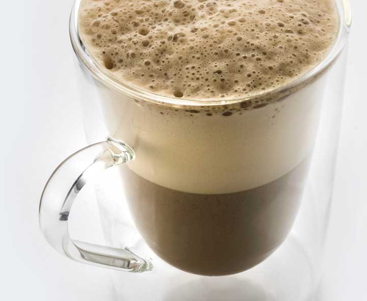 Coffee Frappe flavour drink