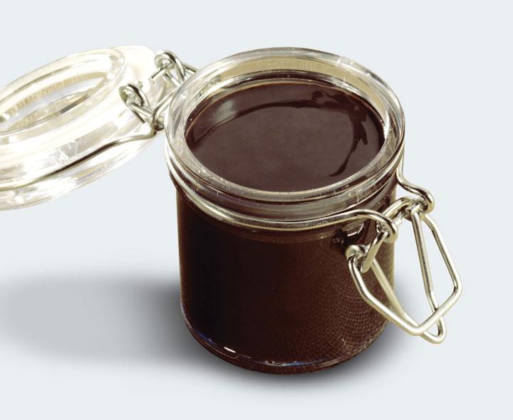 Caramel flavour coulis