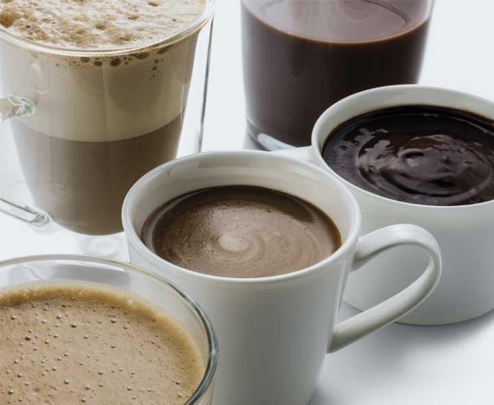 Assortiment de Chocolats et Cafés