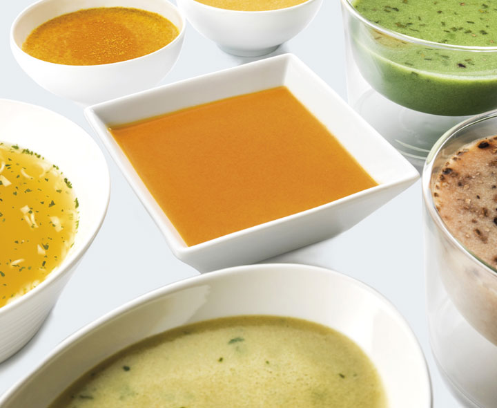 Assortment Soups and Creams