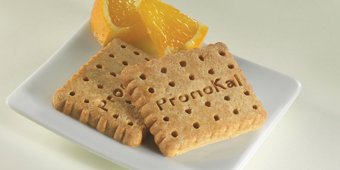 Biscoito sabor laranja